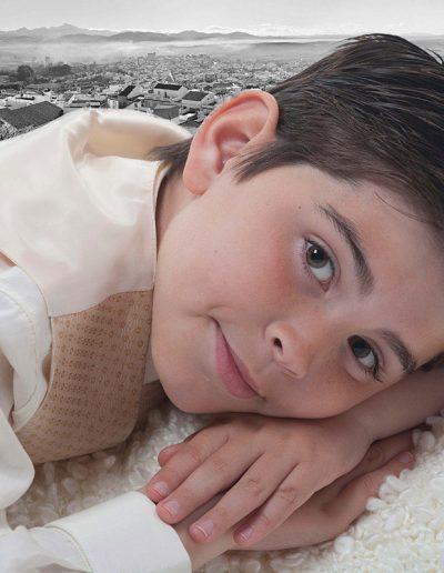 Foto de comunión Niño