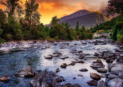 Paisaje en los Pirineos